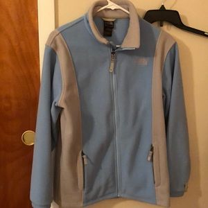 Juniors XL north face fleece - women's small